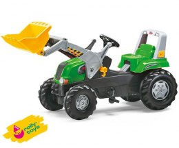Rolly Toys Traktor Junior Zielony z łyżką